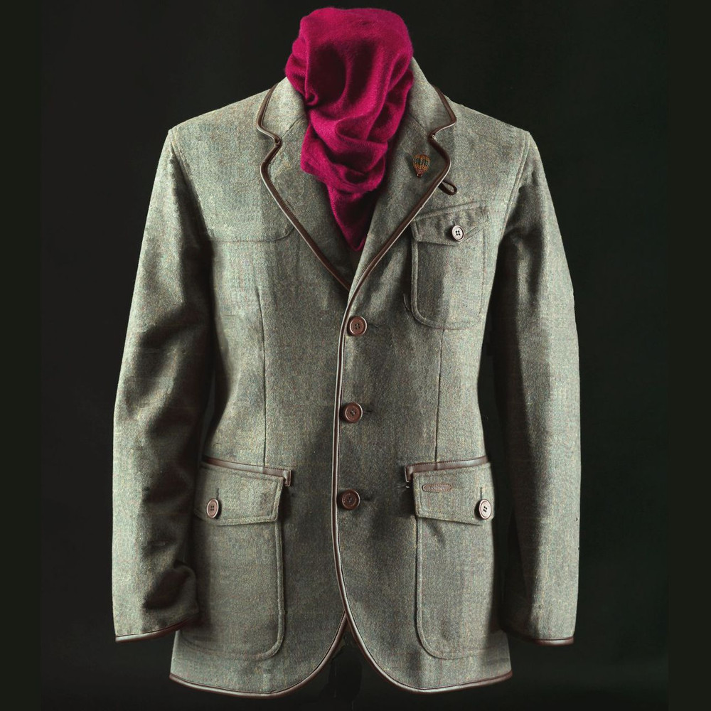 Floyd Herringbone Check Tweed Sports Jacket - Limited Edition by English Utopia