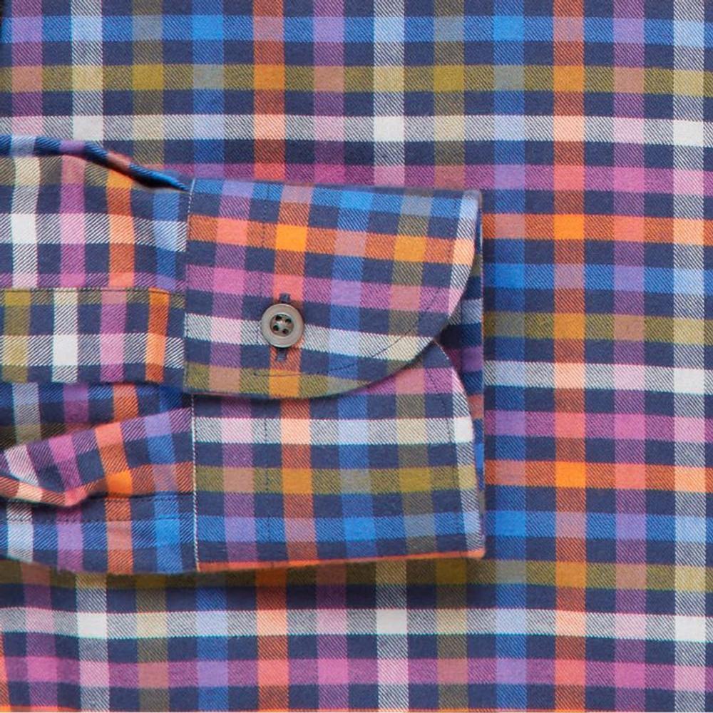 The Archibald Gingham Sport Shirt by Ledbury