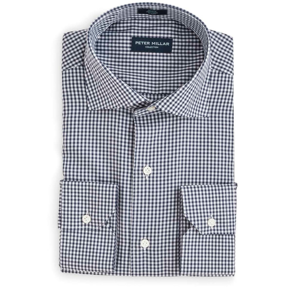 Collection Classic Check Sport Shirt in 	Barchetta by Peter Millar