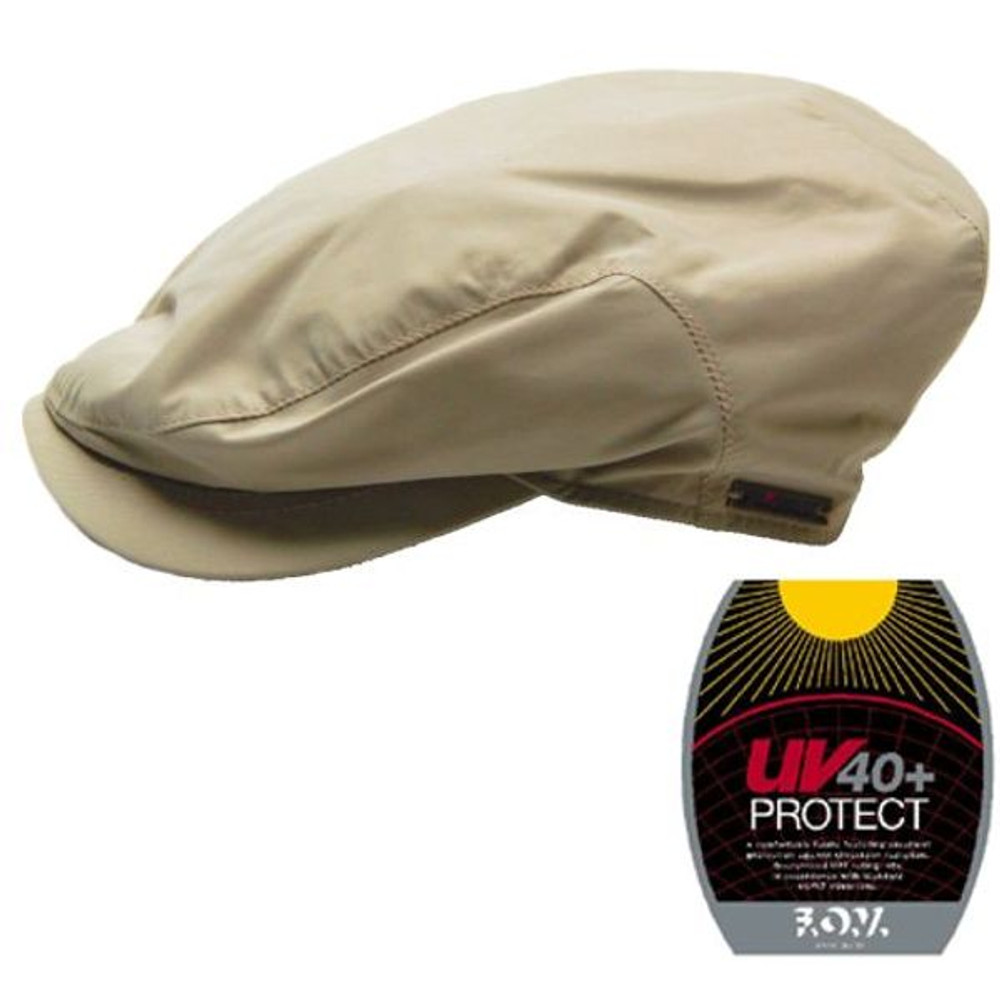 Tan UV40+ Sun Protection Cap by Wigens
