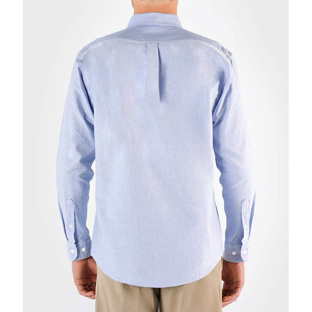 Back View (shown in Light Blue Oxford)