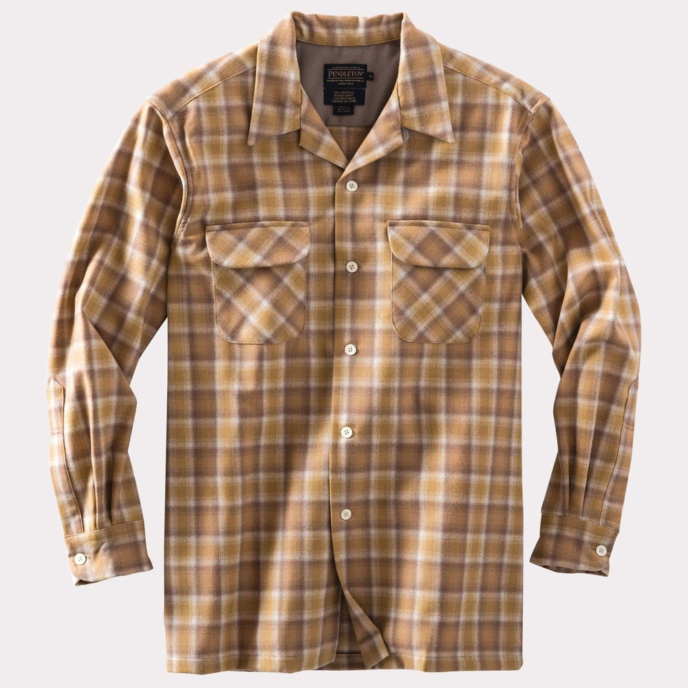 Watson Gold Ombre Board Shirt by Pendleton