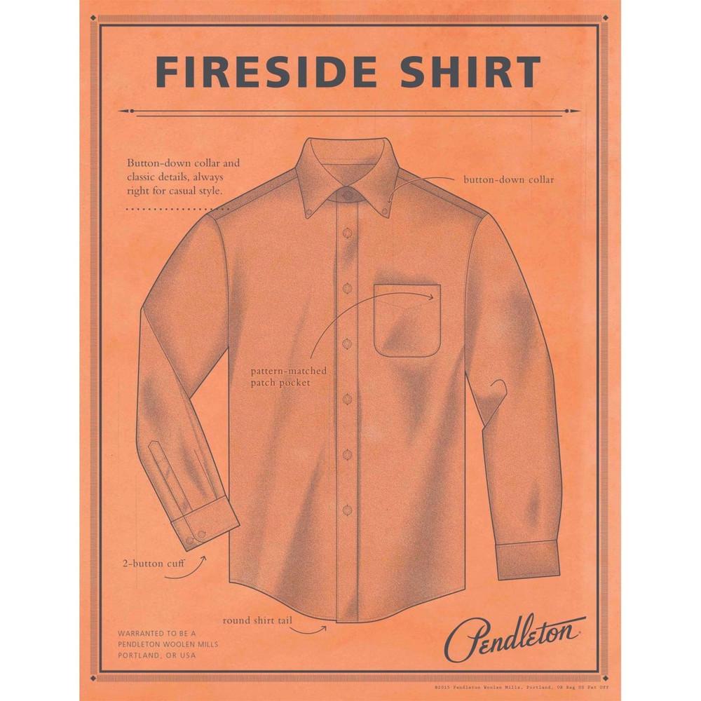 Fireside Shirt in Blue Weir Tartan by Pendleton