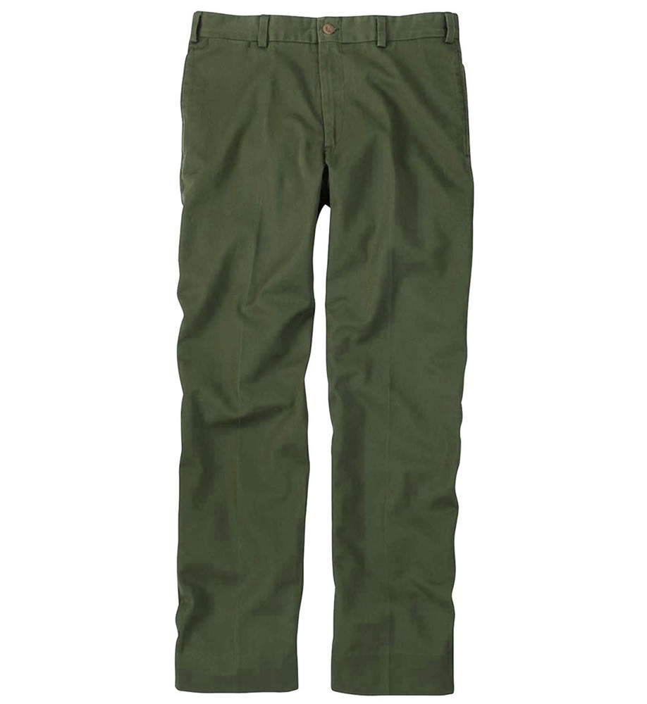 Original Twill Pant - Model M2 Standard Fit Plain Front in Fatigue (Size 32 Only) by Bills Khakis