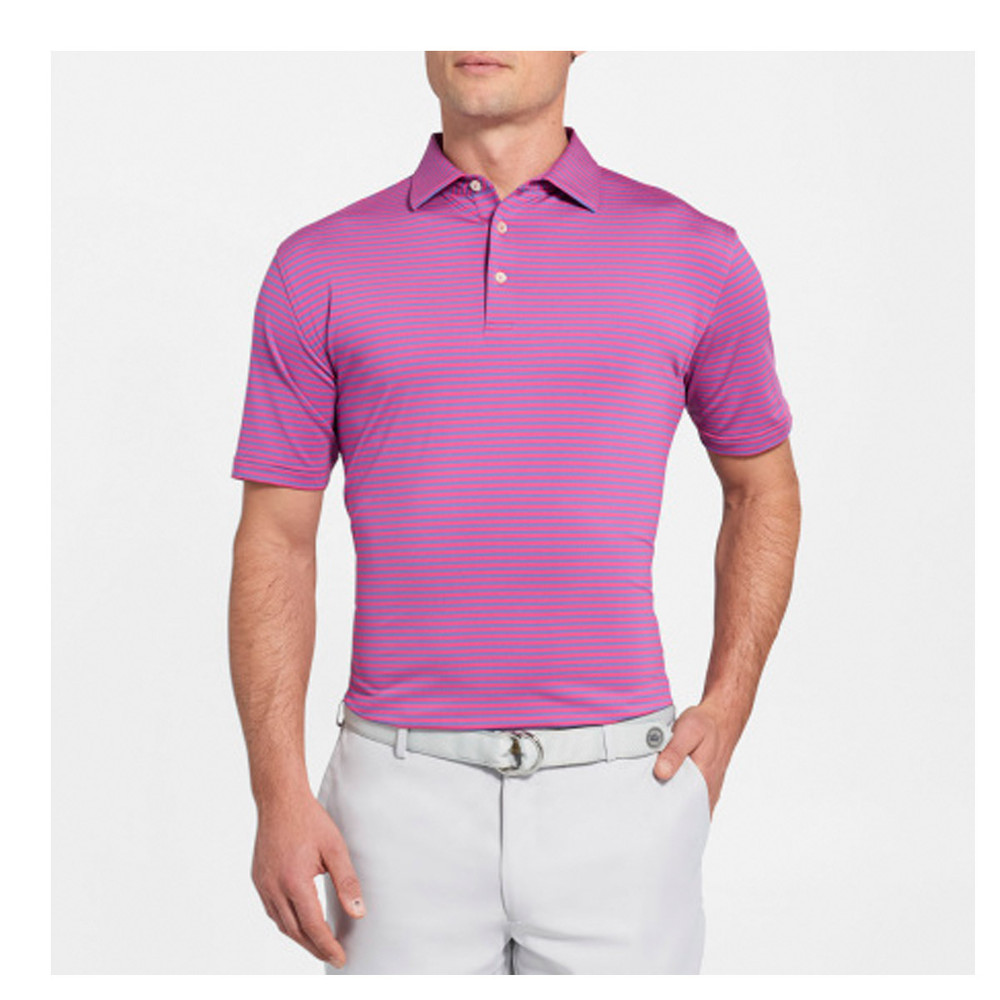 NEW Fall 2018-Competition Stripe Performance Polo by Peter Millar-Aurora Jam