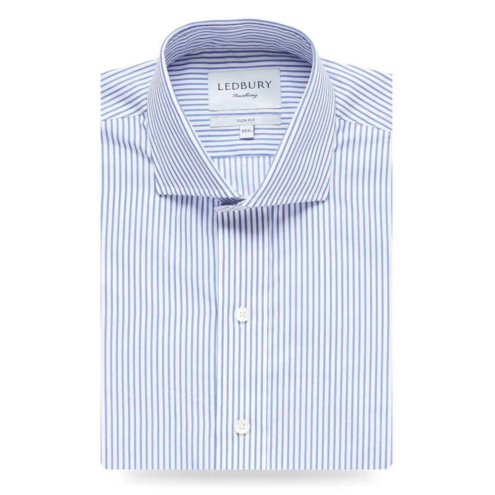 The Cornwall Stripe Dress Shirt by Ledbury