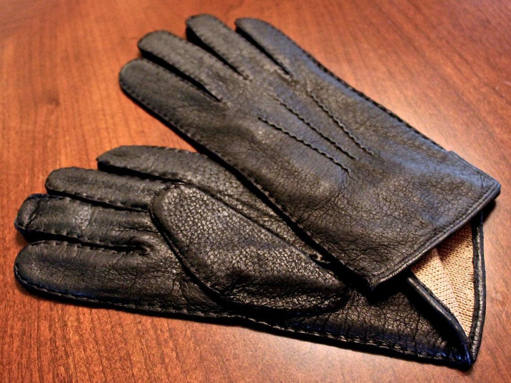Peccary Leather Gloves with 100% Royal Alpaca Lining in Choice of Colors by Peru Unlimited