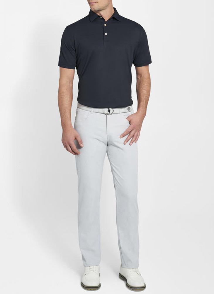 EB66 Performance Five-Pocket Pant in British Grey 'Crown Sport' by Peter Millar