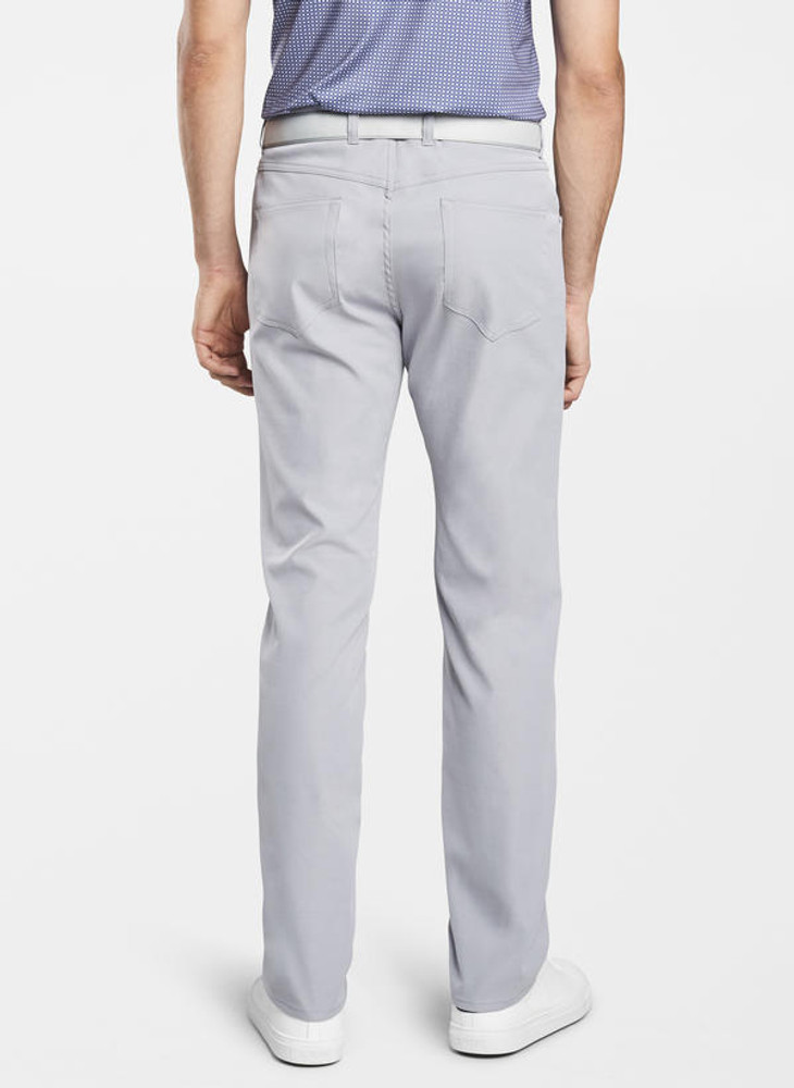 EB66 Performance Five-Pocket Pant in Gale Grey 'Crown Sport' by Peter Millar