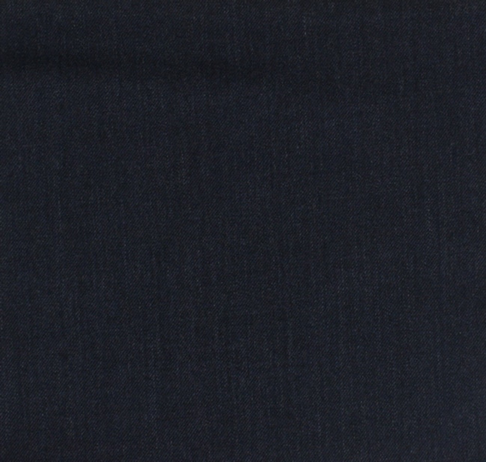 'Lanyard' Double Reverse Pleat Trousers in Navy 120's Worsted Wool Gabardine (Size 40x30) by Corbin