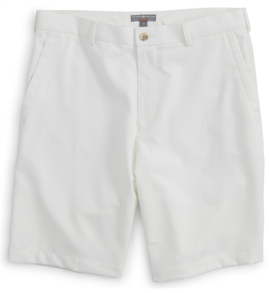 Salem Element 4 Performance Short in White (size 34) by Peter Millar