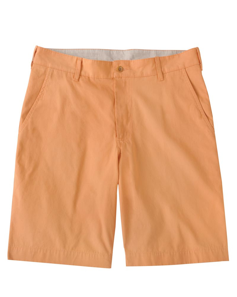 The Southport Twill Parker Short in Papaya (size 34) by Bills Khakis