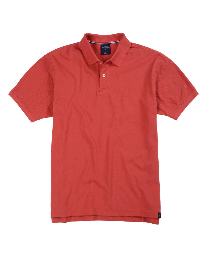 Supima Pique Polo In Weathered Red By Bill's Khakis