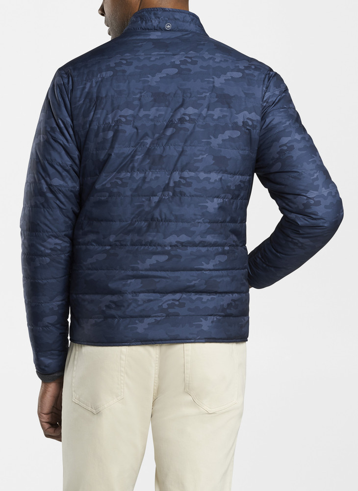 Camouflage Hyperlight Bomber in Navy by Peter Millar