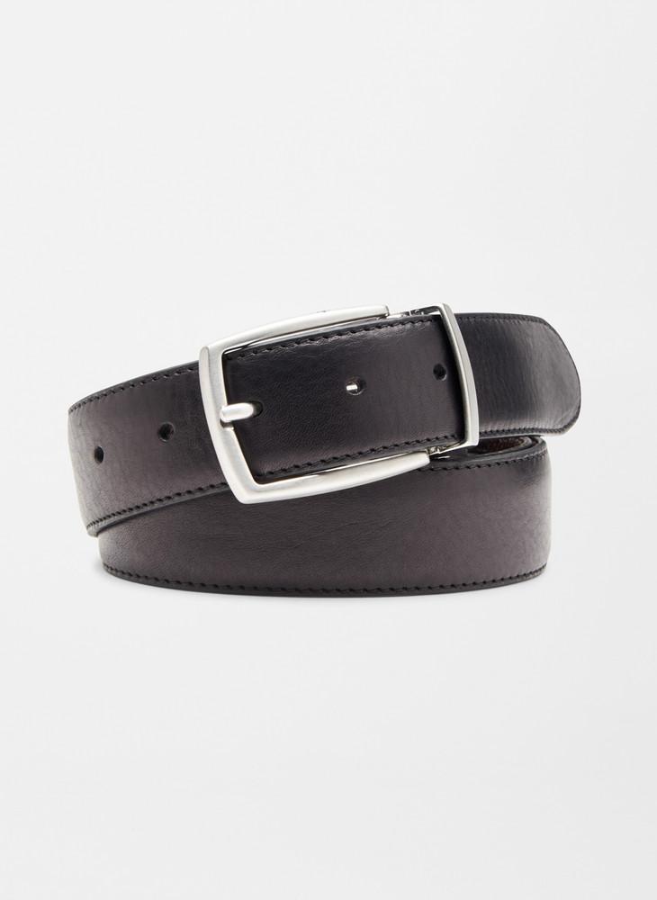 Reversible Leather Belt in Black/Brown by Peter Millar