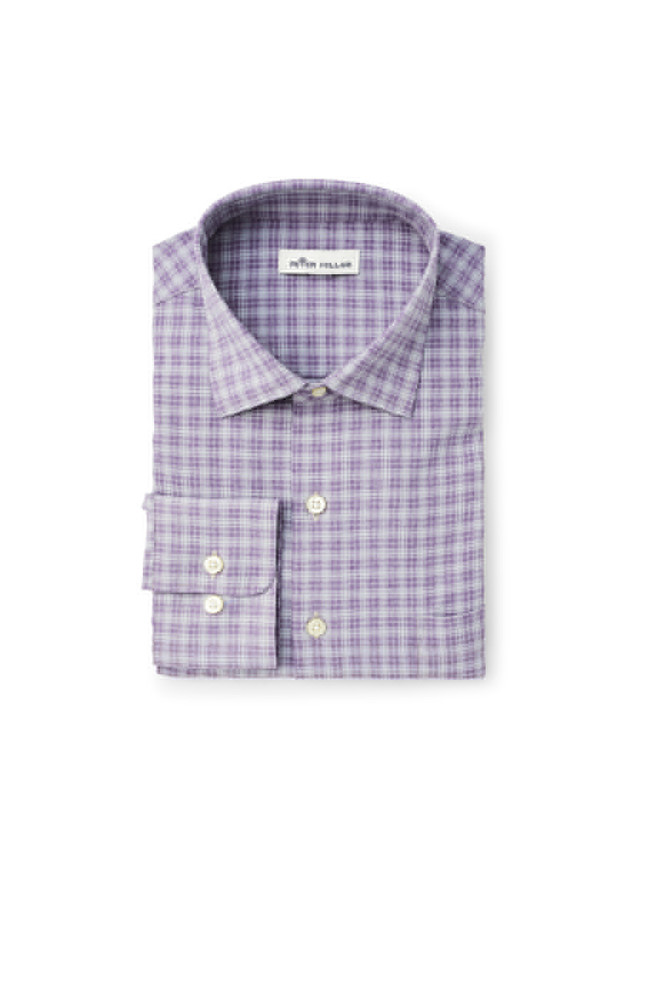 Hartford Natural Touch Performance Sport Shirt in Bell by Peter Millar