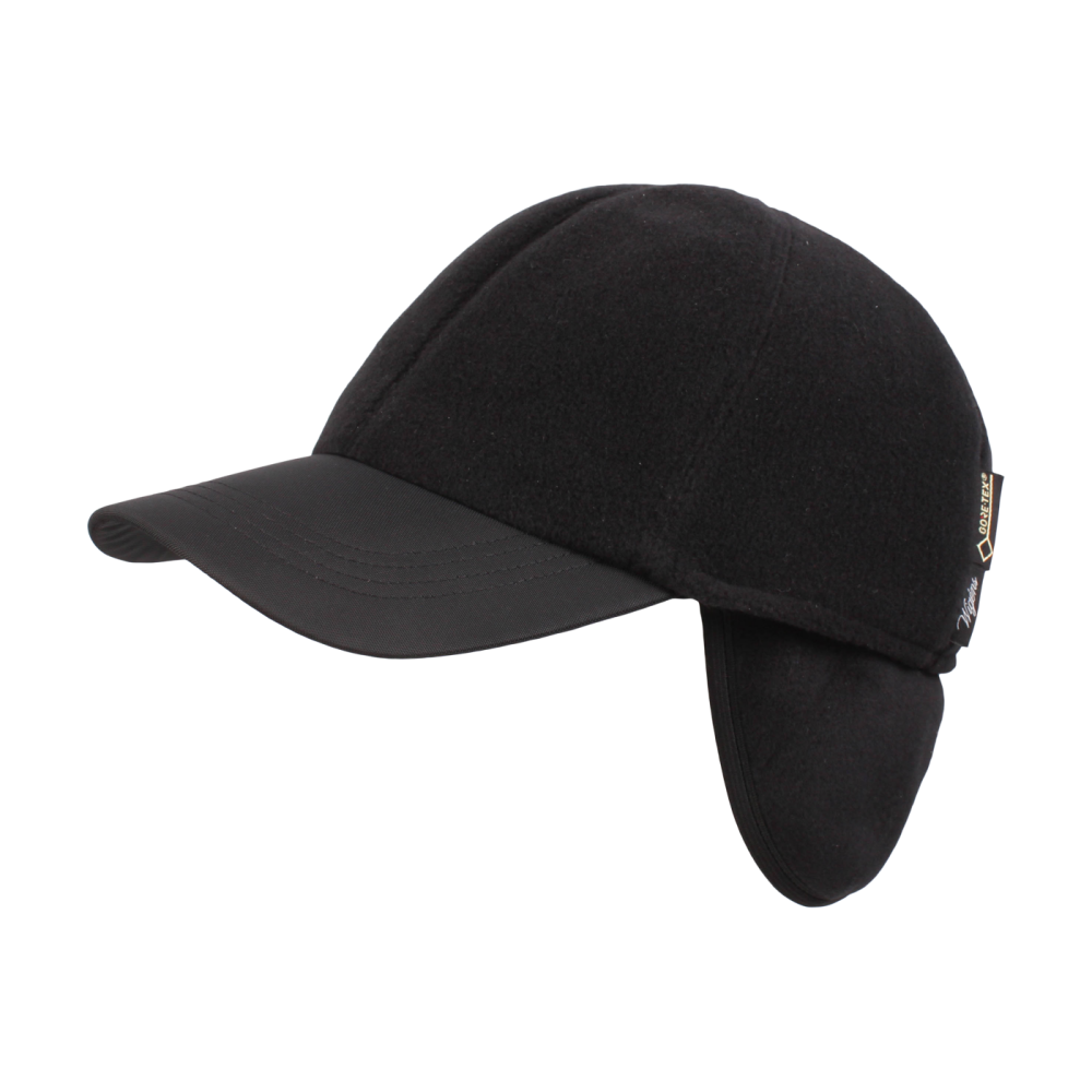 Fleece Baseball Cap with earflaps in Choice of Colors by Wigens