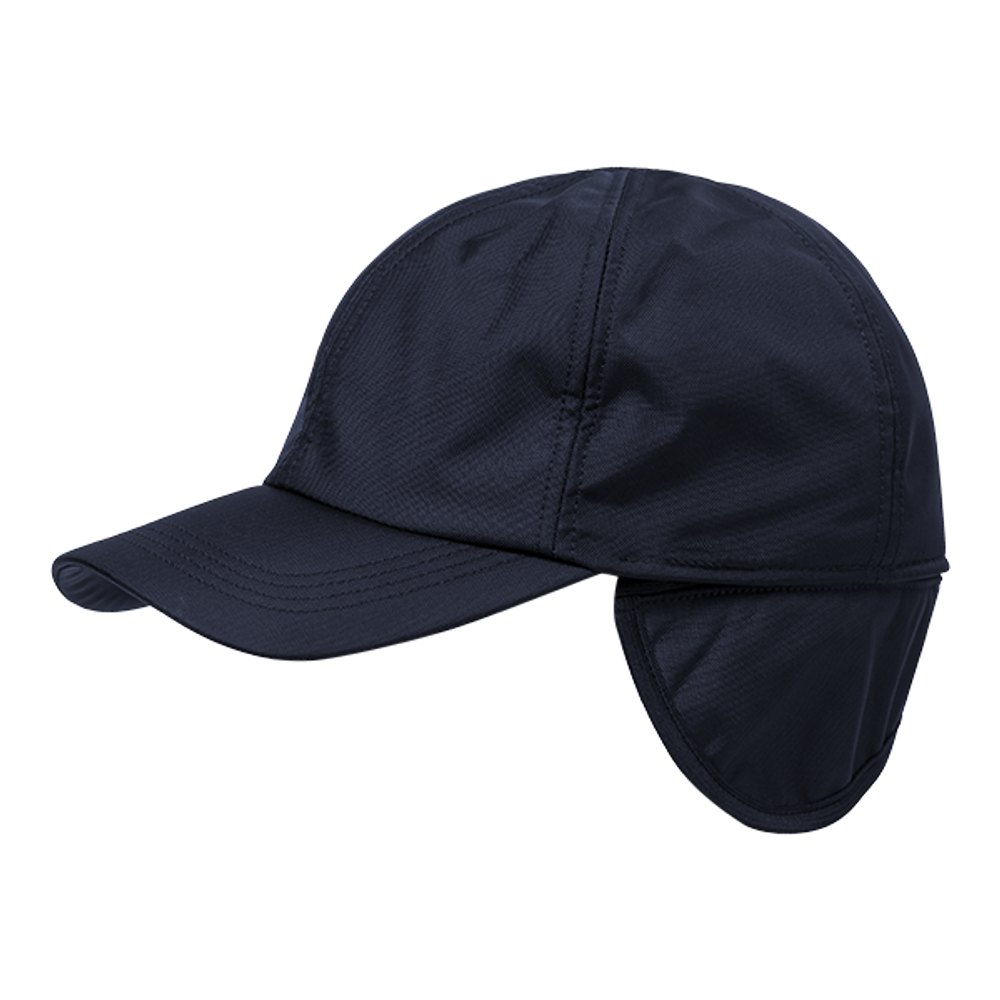 Soft Nylon Baseball Cap with Pile Lining and earflaps in Choice of Colors by Wigens