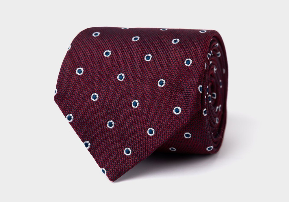 The Wine Cadogan Tie by Ledbury