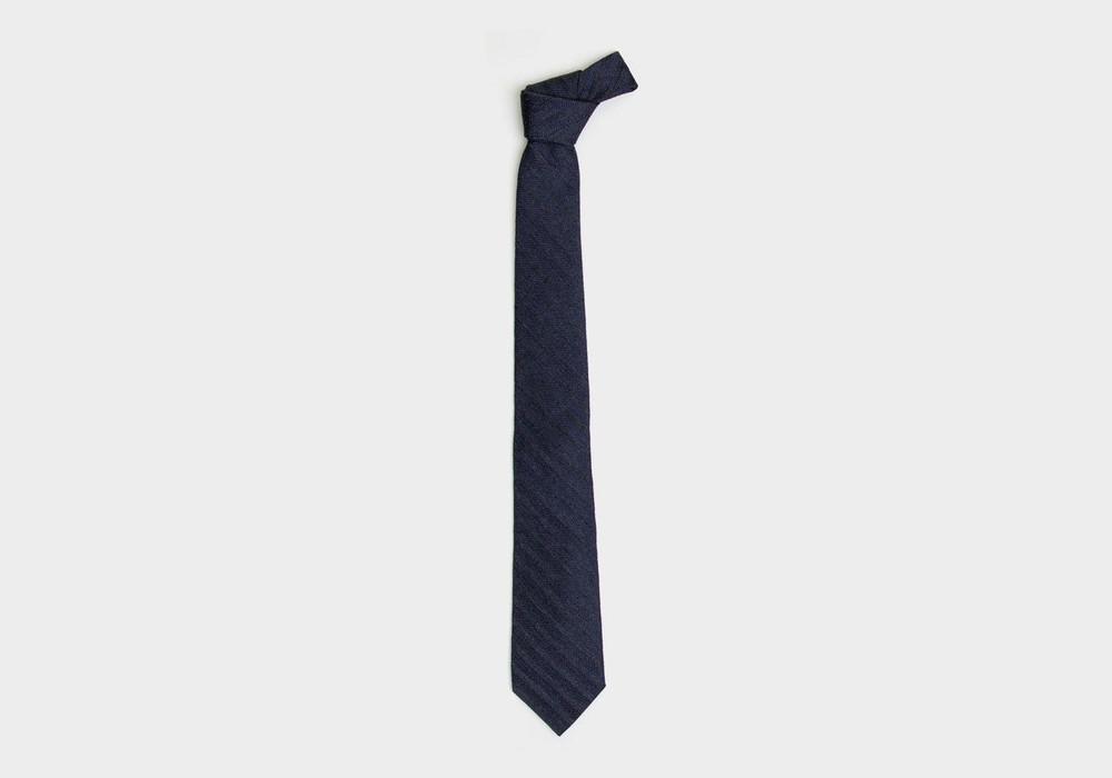The Midnight Blue Goethe Tie by Ledbury