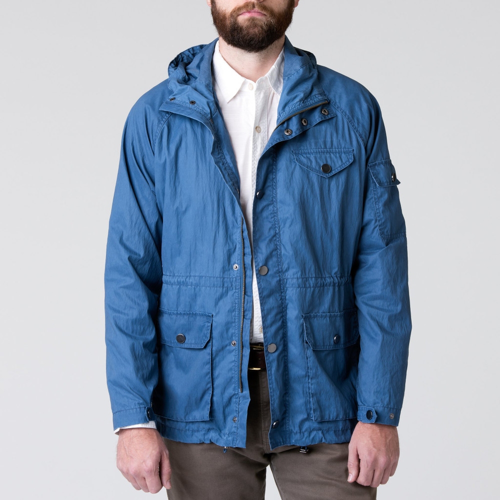 Reedy Anorak in Harbor Blue by H. Goose