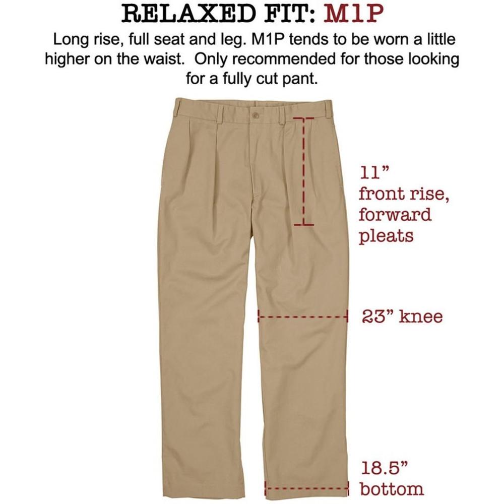 Copy of Copy of Original Twill Pant in Khaki (Model M1P, Size 36X27 by Bills Khakis