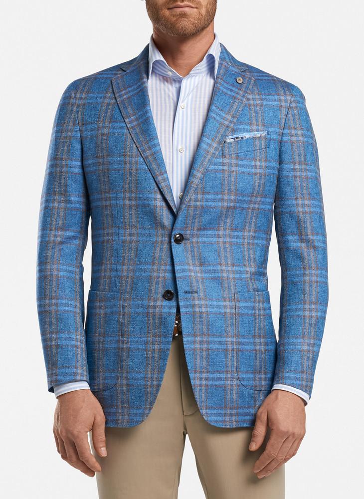 Augustus Soft Jacket in Bleu Francais by Peter Millar