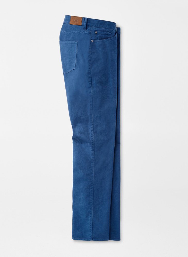 Cotton Canvas Five-Pocket Pant in Aviator Blue by Peter Millar