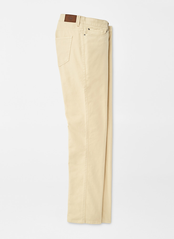 Cotton Canvas Five-Pocket Pant in Desert Sand by Peter Millar