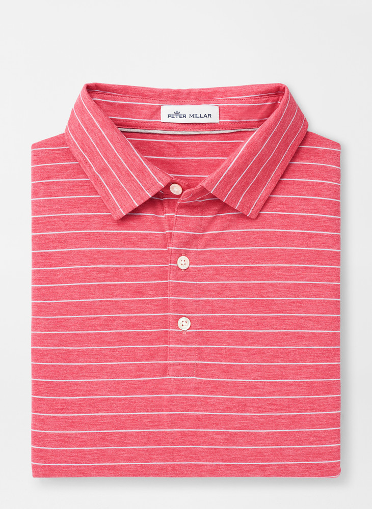 Crown Soft Wickford Polo in Red Ginger by Peter Millar