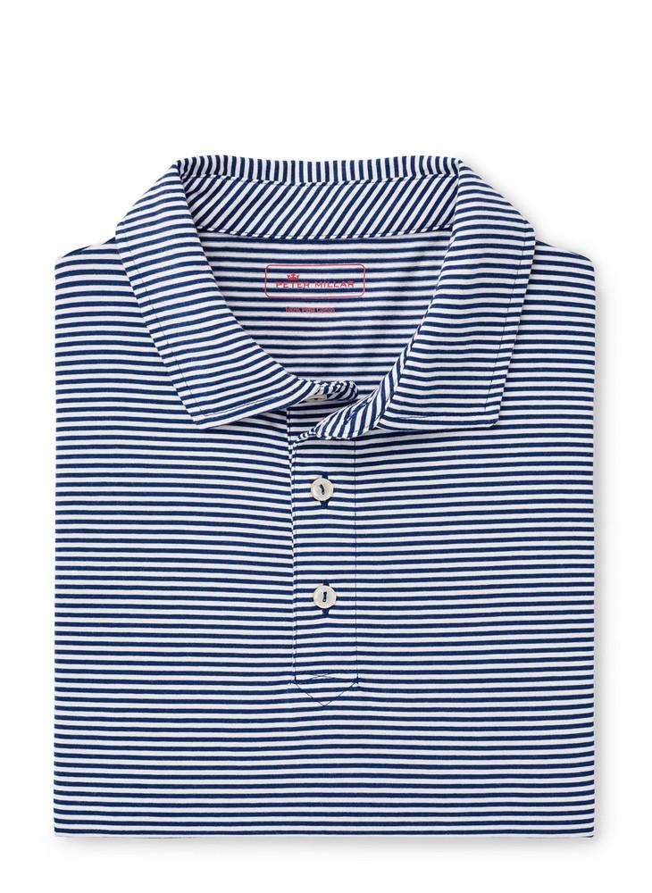 Kribi Beach Aqua Cotton Polo in Atlantic Blue by Peter Millar