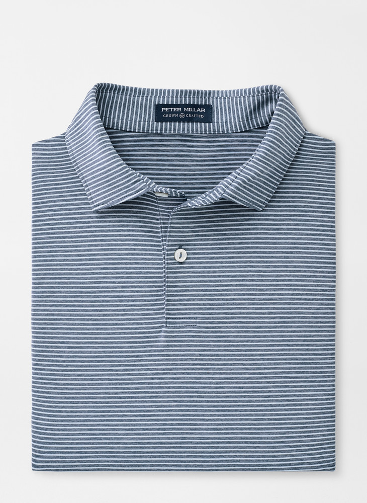 Bullock Performance Polo in Blue Agate by Peter Millar