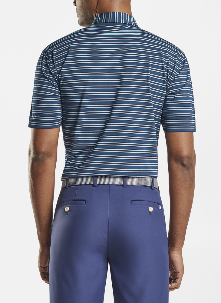 Harvey Performance Polo in Navy by Peter Millar