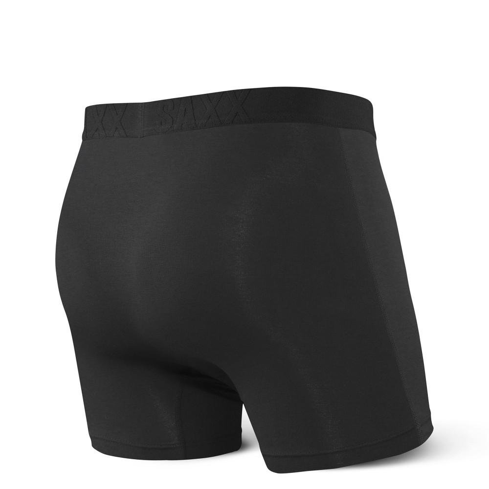 Vibe Boxer Brief in Black by SAXX Underwear Co.