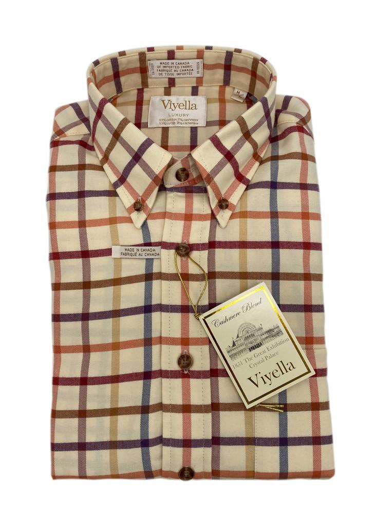 String Limited Edition Luxury Button-Down Sport Shirt by Viyella