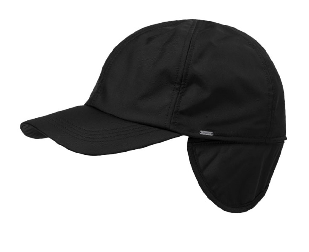Sport Twill Baseball Cap with earflaps in Choice of Colors by Wigens