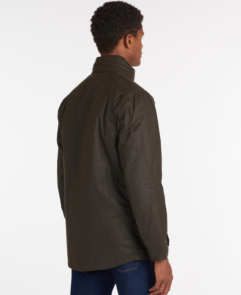 Sapper Wax Jacket in Olive by Barbour