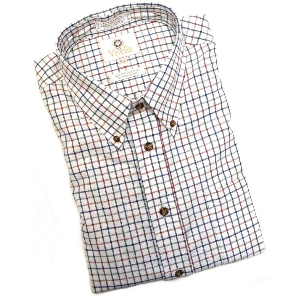 Multi Prime Check Shirt (Size XX-Large Tall) by Viyella