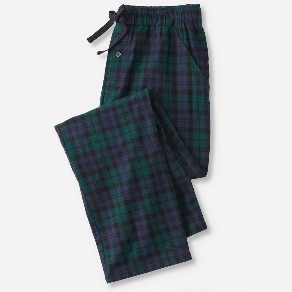Flannel Sleep Pants in Black Watch Tartan (Size X-Large) by Pendleton