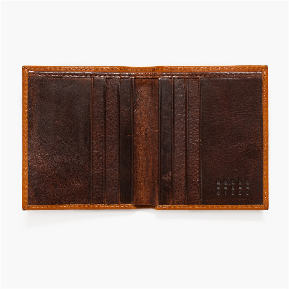 Compact Wallet in Modern Saddle by Moore & Giles
