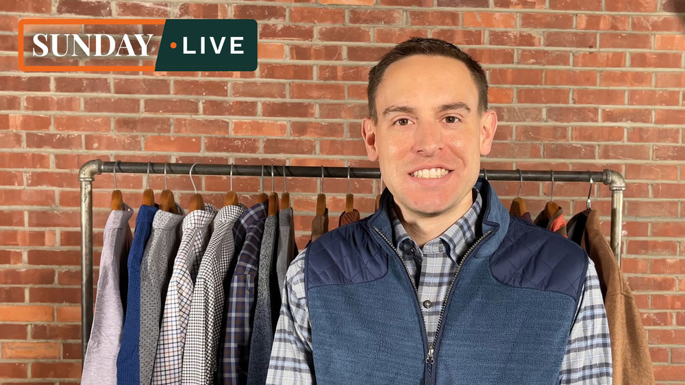 Sunday Live: 30% Off Select Fall 2020 Crown Collection by Peter Millar