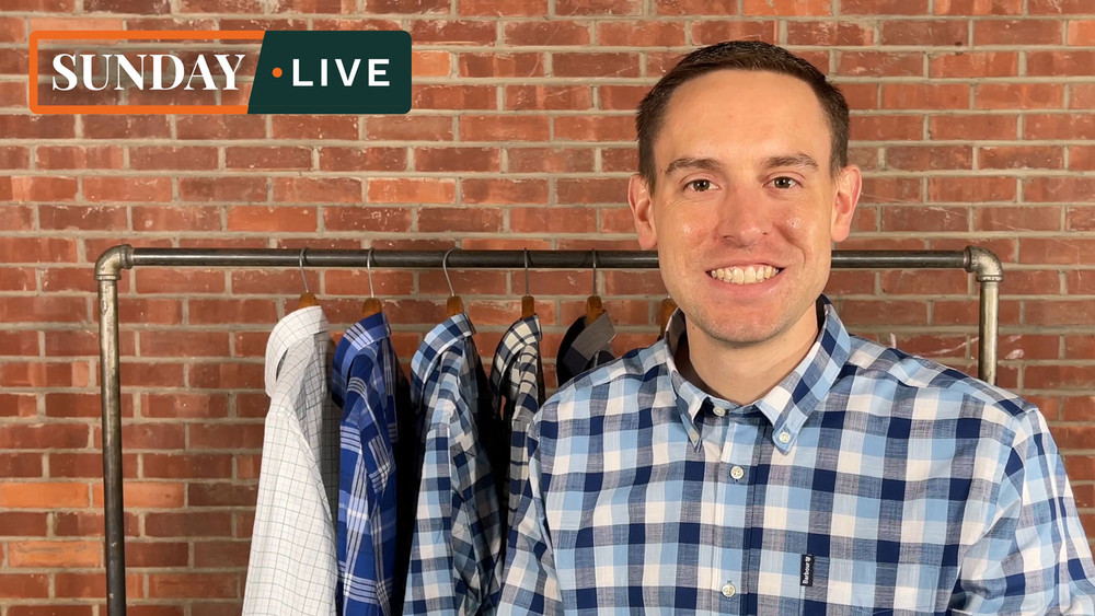 Sunday Live: Spring 2021 Shirts, Sweaters and Jackets by Barbour