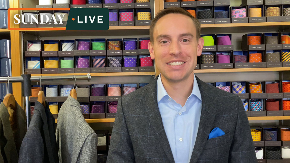 Sunday Live: Fall 2020 Hansen's Exclusive Tweed Jackets by Bookster Tailoring