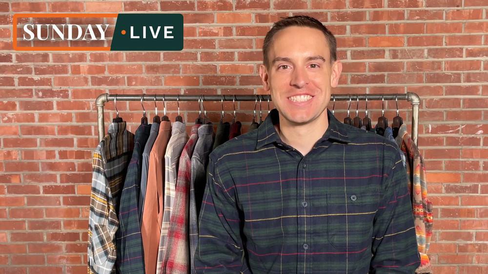 Sunday Live: Fall 2020 100% Wool and Cotton Shirts by Pendleton
