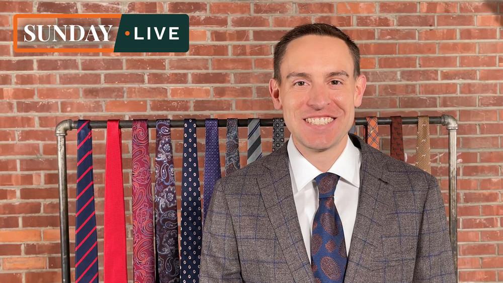 Sunday Live: Fall 2020 Hand Sewn Neckties by Robert Jensen