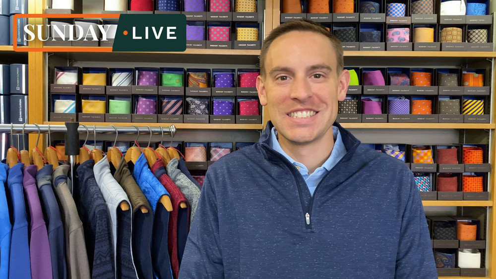 Sunday Live: Fall 2020 Crown Sport Quarter-Zips, Vests and Jackets by Peter Millar