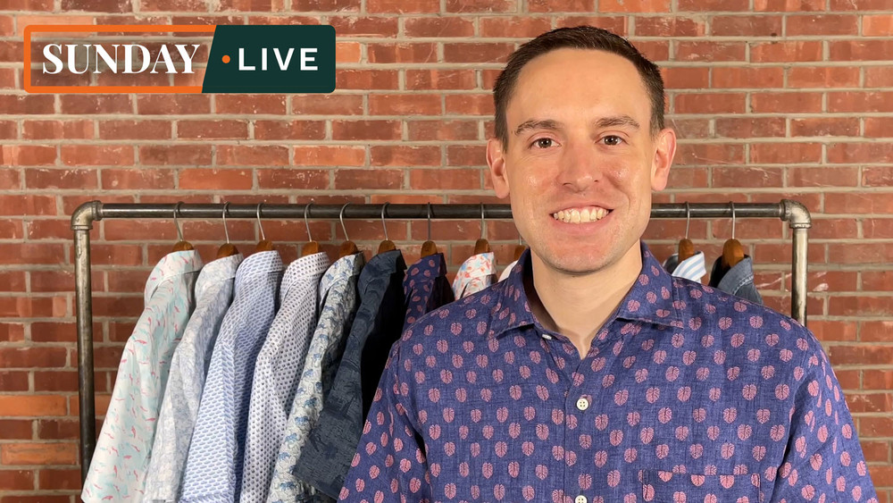 Sunday Live: Spring 2021 Weekend Shirts by Peter Millar