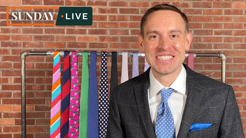 Sunday Live: Spring 2021 Hand Sewn Neckties by Robert Jensen