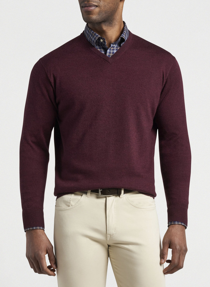 Classically Fashionable: How to Properly Wear V-Neck Sweaters