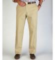 Lightweight Cotton Poplins - Model M2 Standard Fit(Size 42) Plain Front in Wicker by Bills Khakis